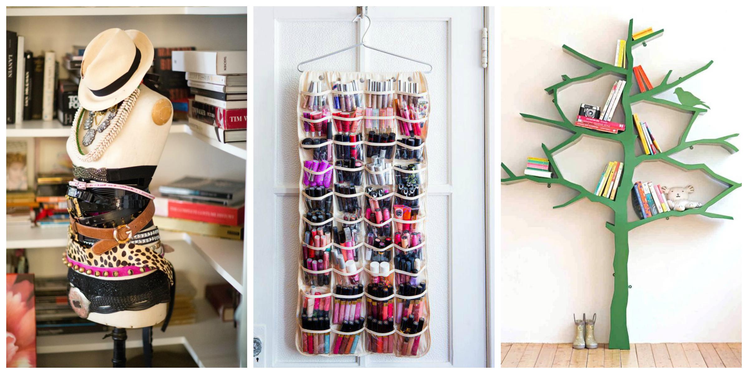 Ideias criativas para organizar o quarto!